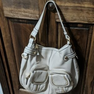 B makowsky bone color bag